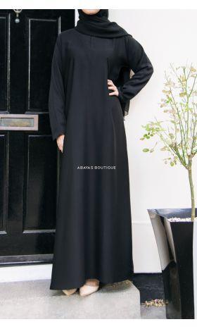 Casual Abaya Black