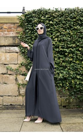 Luxe Abaya in Grey