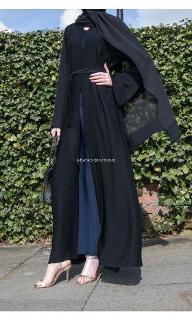 Luxe Abaya in Black