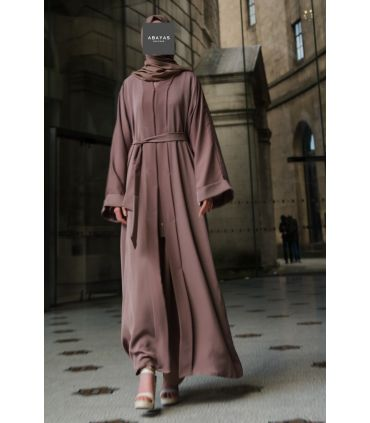 Black Flared Abaya