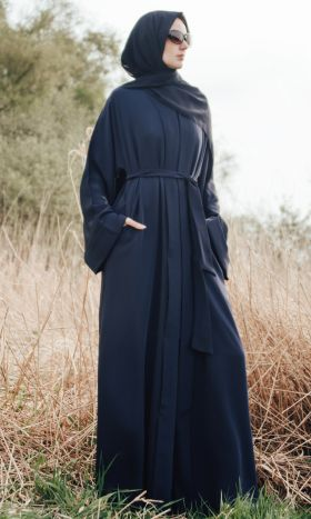 Luxe Abaya in Blue