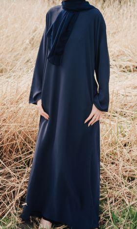 Casual Abaya Blue