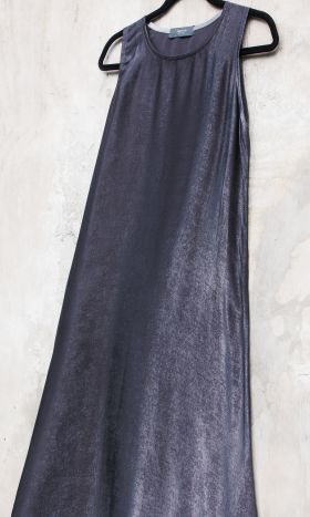 Silk Slip Mercury Grey