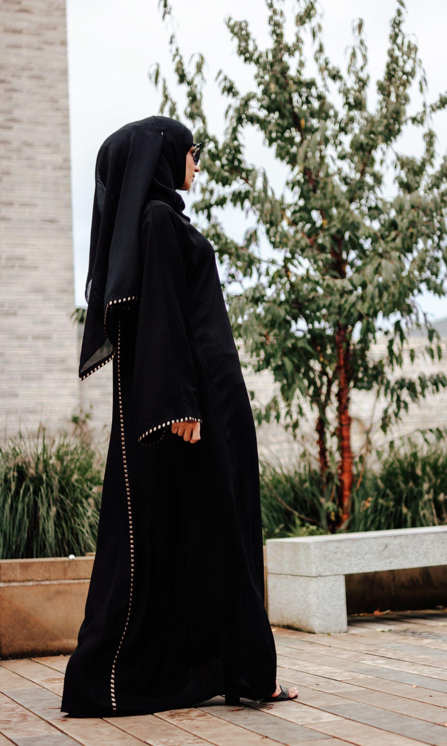 Barunz Raw Silk Abaya