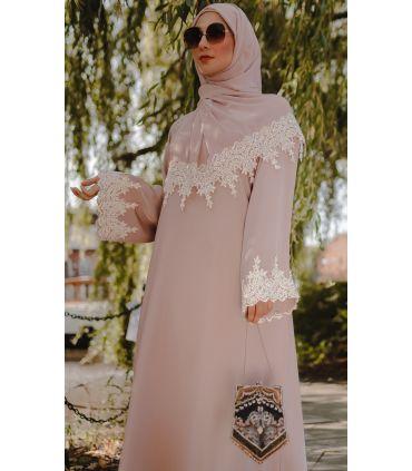 Crinkle Hijab Apricot