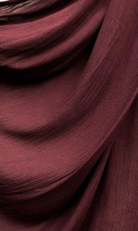 Rayon Crinkle Hijab Dark Scarlet