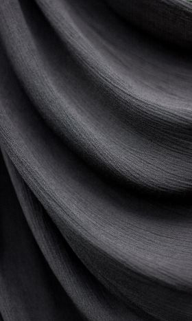 Rayon Crinkle Hijab Charcoal Grey