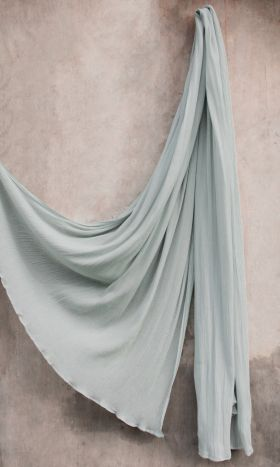 Rayon Crinkle Hijab Mint Frost