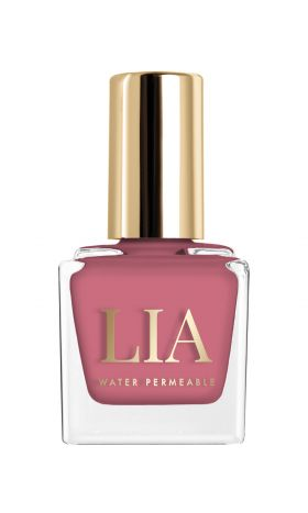 Water Permeable Nail Polish Rose Berry