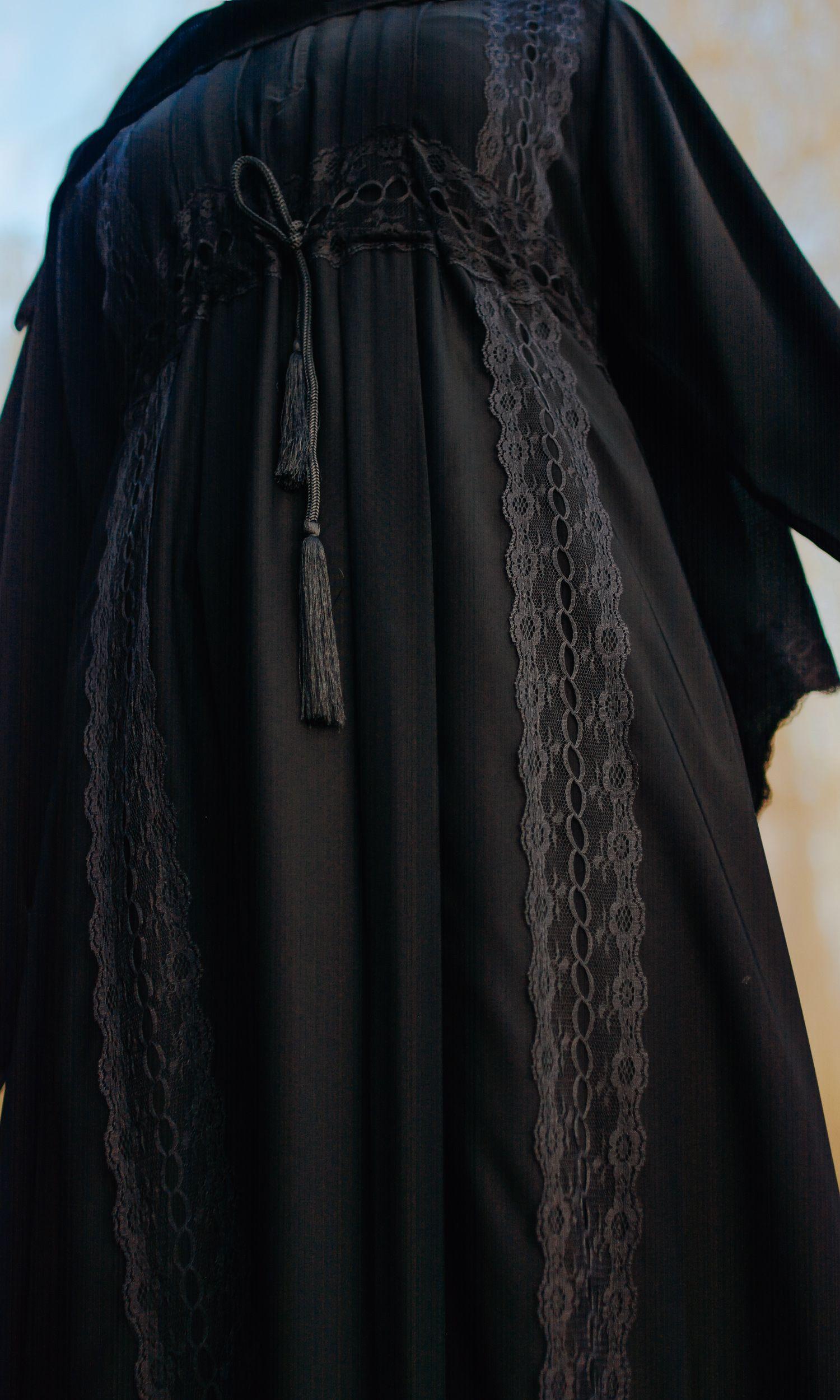 Paisley Velour Kimono
