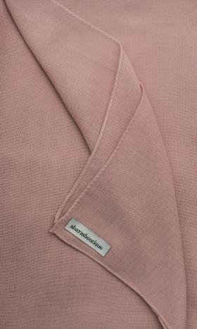 Linen Viscose Hijab Lady Pink
