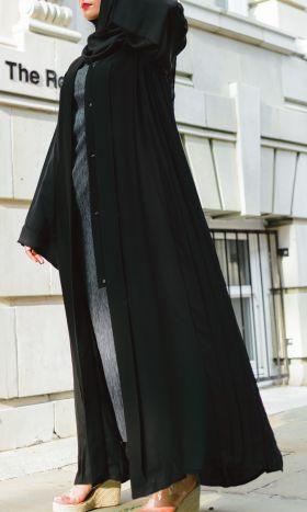 Pleats Please Abaya Black