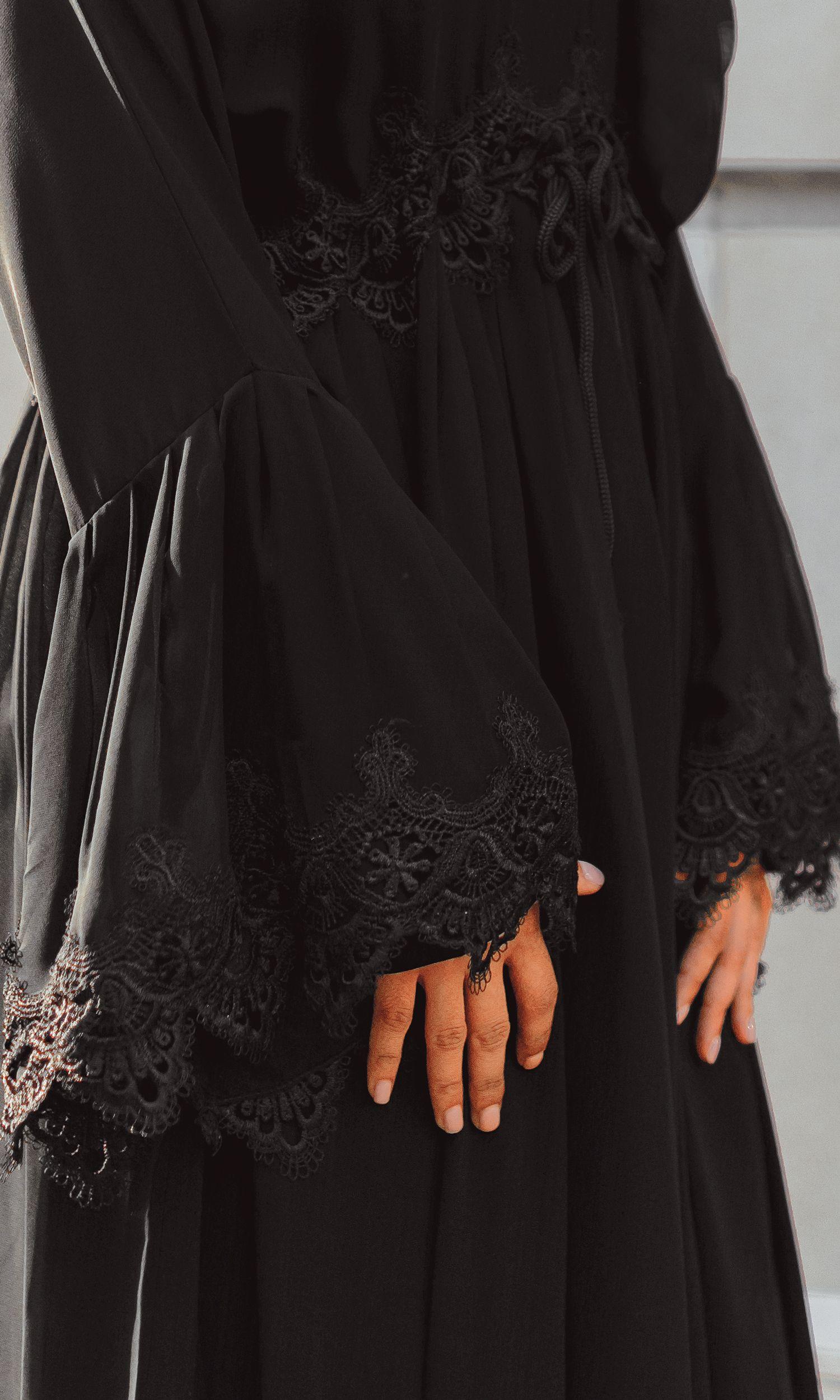 Stellaire Silk Abaya