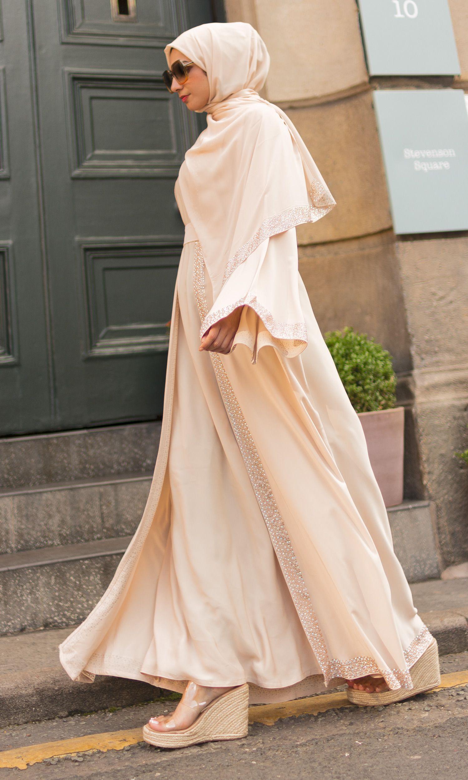 Huda Cotton Fil-coupé Kimono